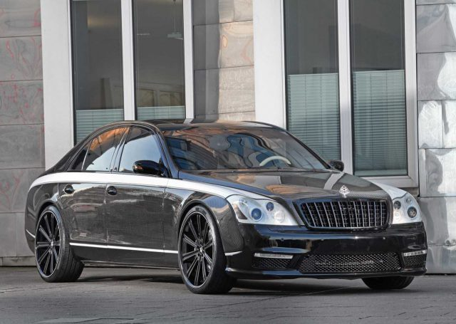 Maybach 57S według Knight Luxury