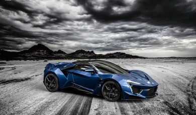 Arabski Fenyr Supersport