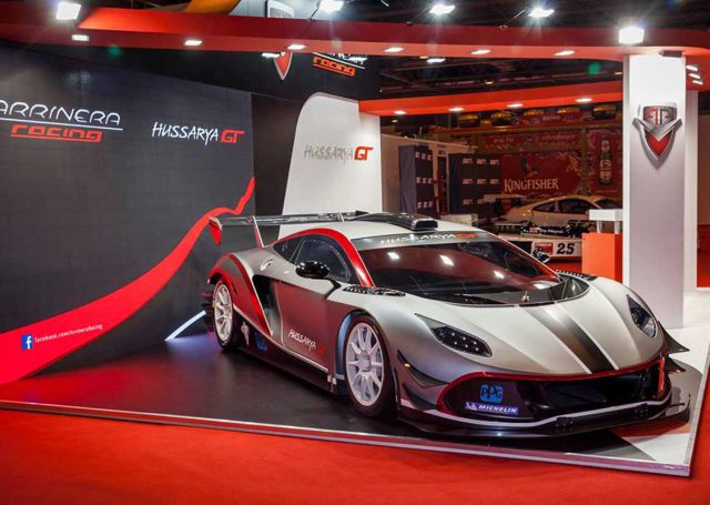 Arrinera Hussarya na Autosport International w Birmingham