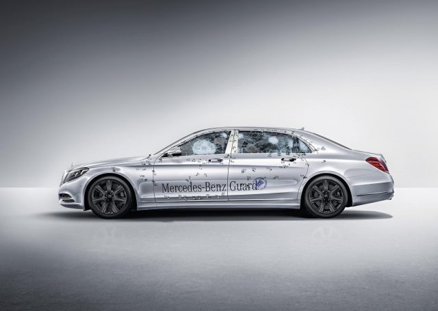 Mercedes-Maybach S 600 Guard – opancerzony luksus