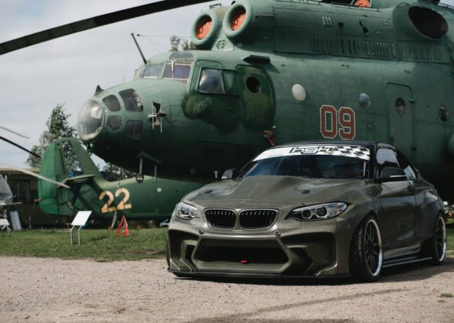 BMW F22 w interpretacji HGK Motorsport (video)