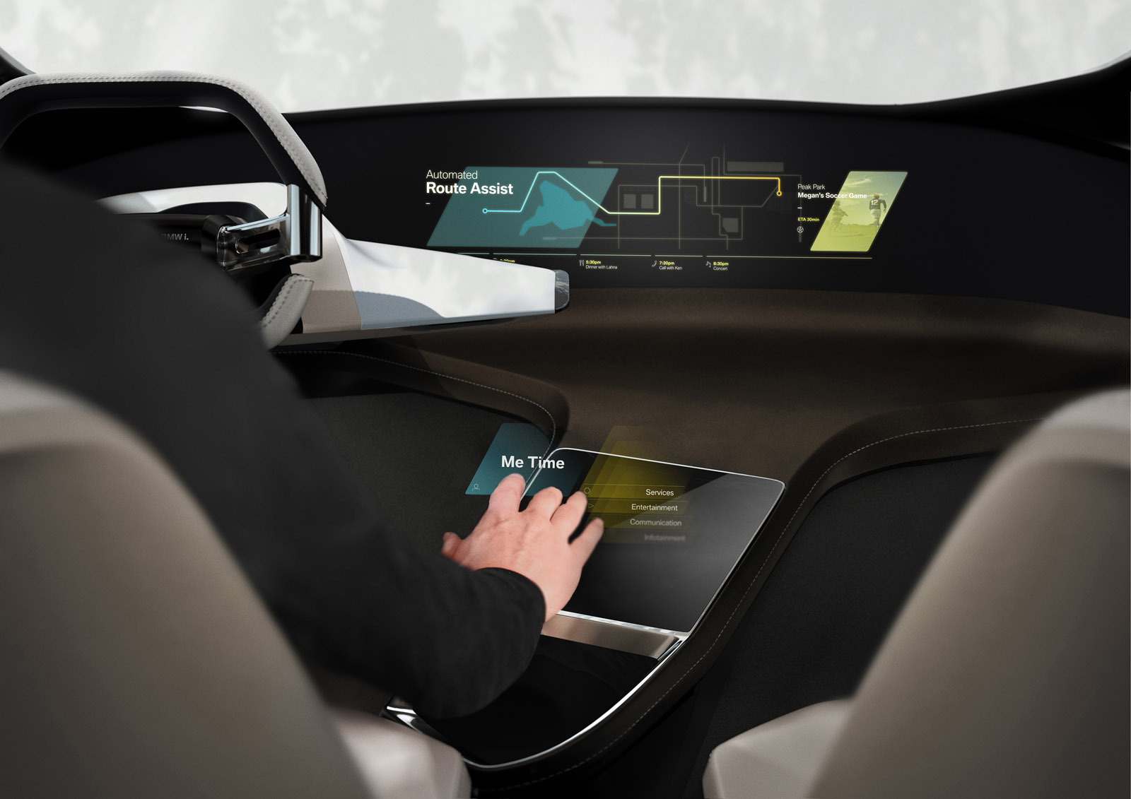 BMW i HoloActive Touch