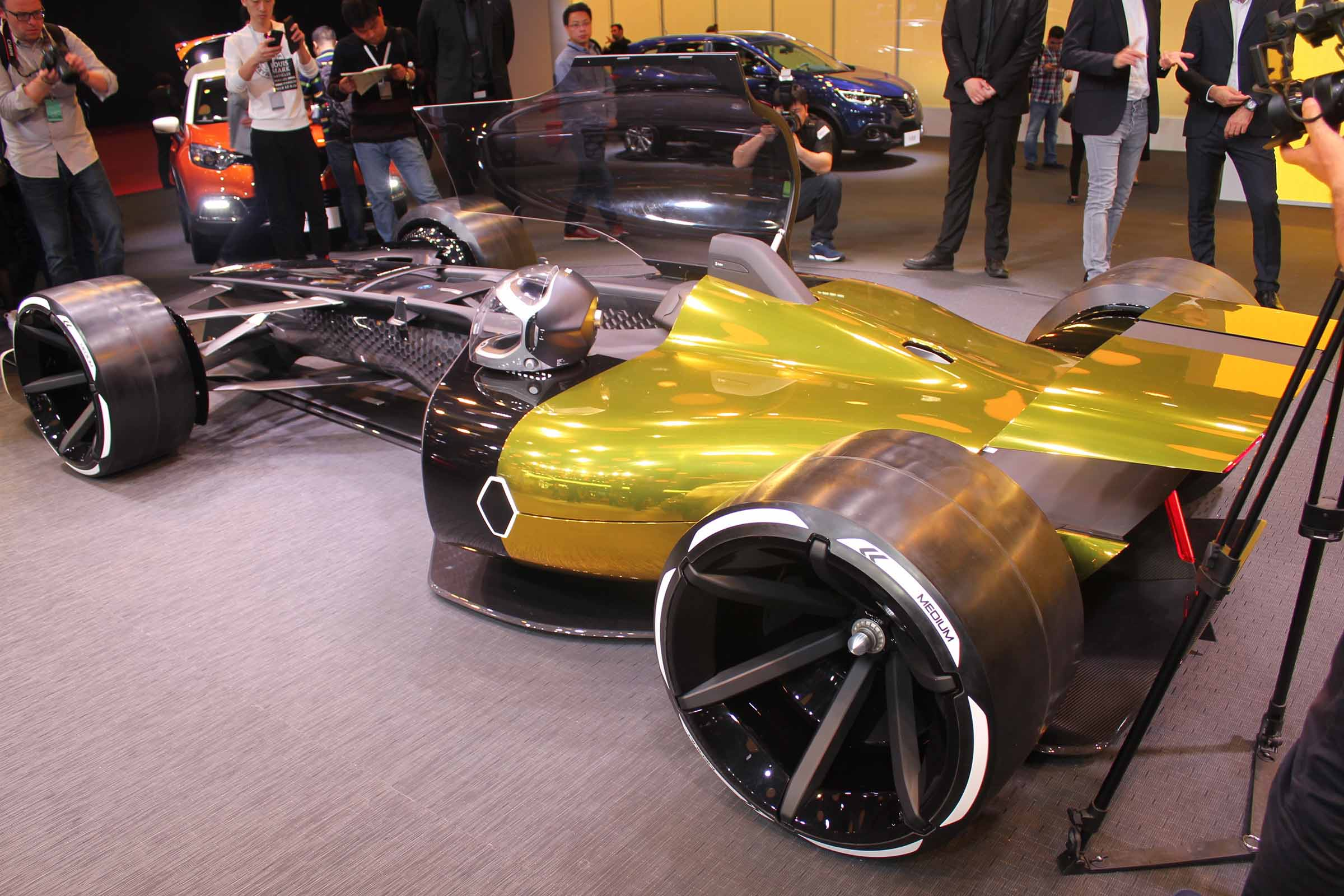 Bolid Renault R.S. Vision 2027