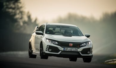 Rekord Hondy Civic Type R na Nurburgringu