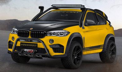 BMW MHX6 Dirt² – szalony projekt Manharta