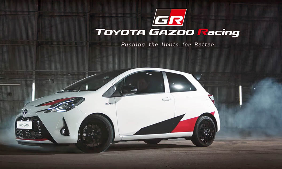 Japonski hot-hatch - Toyota Yaris GRMN