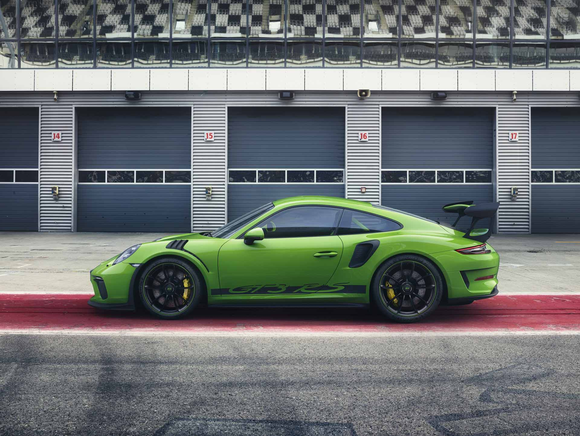911 GT3 RS o mocy 520 KM