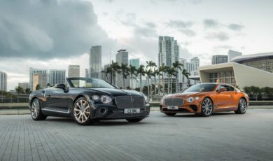 Bentley Continental GT z V8