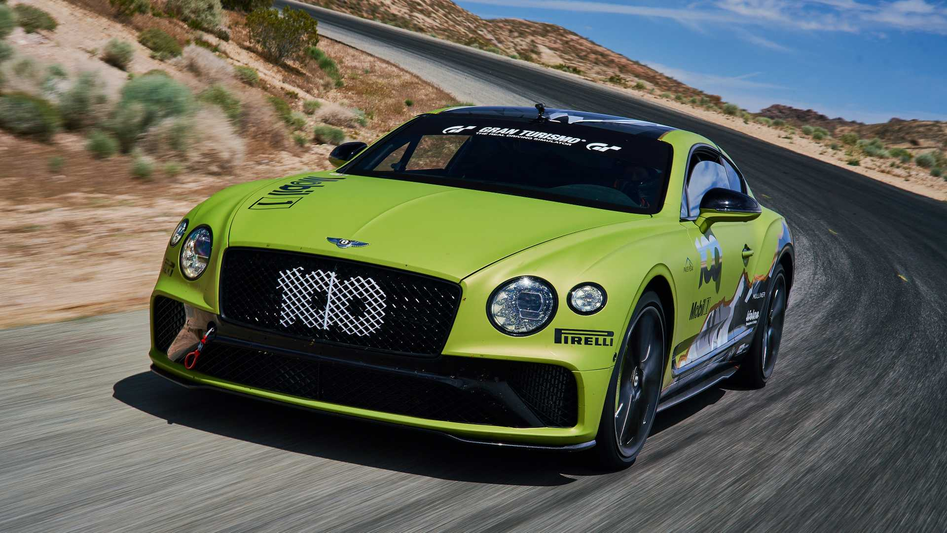 Bentley Continental GT na Pikes Peak