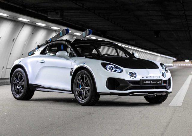 Alpine A110 SportsX – z inspiracji rajdami