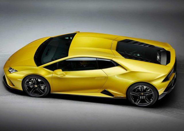 Lamborghini Huracan EVO z napędem na tył
