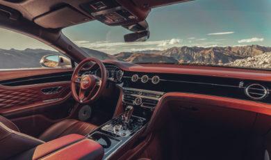 Oto kabina Bentleya Flying Spur