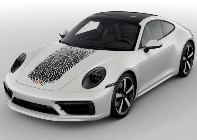 Porsche 911 z odciskiem palca na masce – propozycja dla indywidualistów
