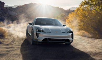Porsche Taycan Cross Turismo szykowane na koniec roku 2020