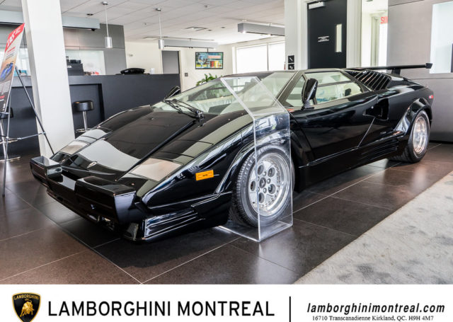 Oto Lamborghini Countach, które 30 lat spędziło w zamknięciu