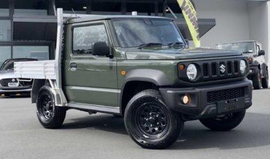 Suzuki Jimny w wersji pickup dostępne w Nowej Zelandii