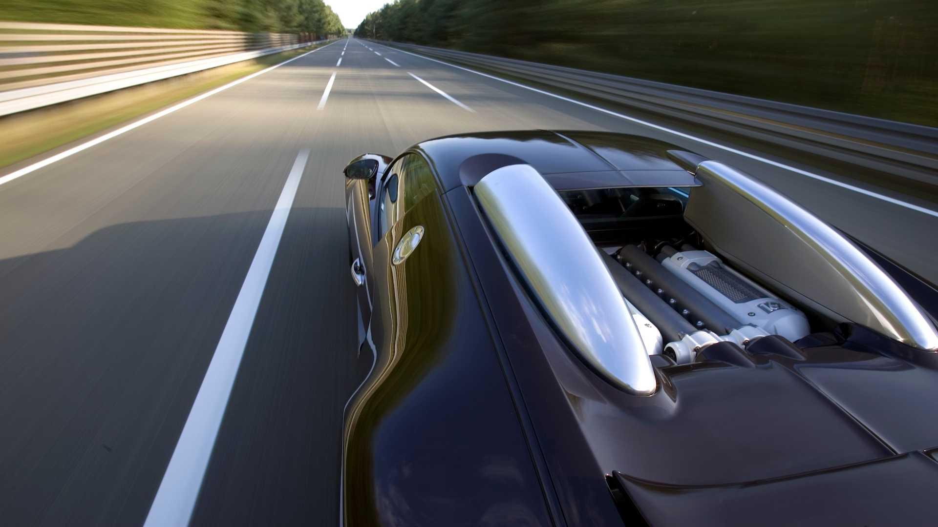Podróż Bugatti Veyron