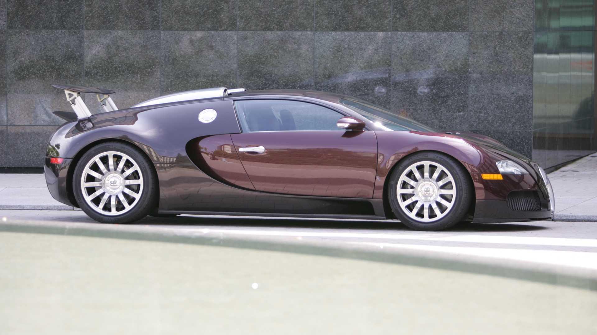 samochód Bugatti Veyron