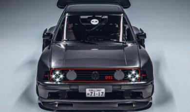 Volkswagen Golf GTI MK2 – od wizualizacji do realnego projektu