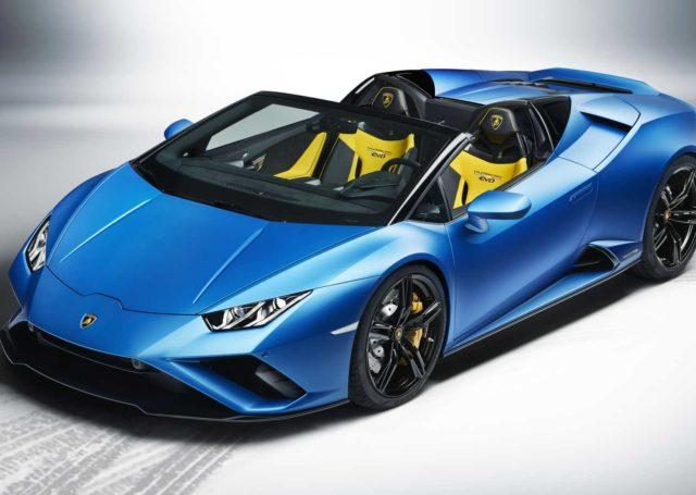 Lamborghini Huracan Evo Spyder RWD, czyli niebo nad głową