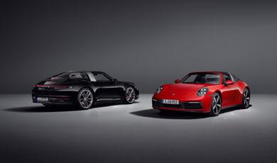 Nowe Porsche 911 Targa 4 i 4S
