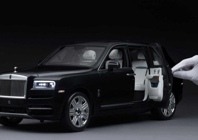 Miniatura Rolls-Royce'a Cullinan zaskakuje precyzją. I kosztuje krocie