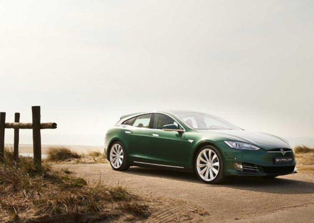 Wyjątkowa Tesla Model S P85 w nadwoziu kombi na sprzedaż