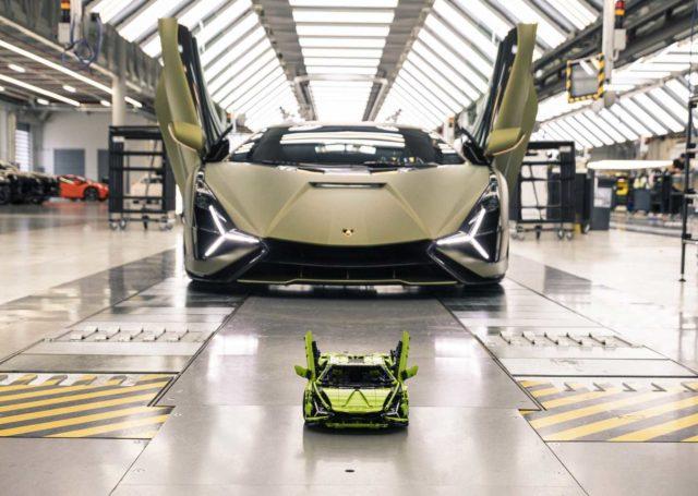 Lamborghini Sian w zestawie LEGO Technic – idealny prezent nie tylko na Dzień Dziecka