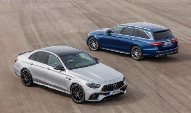 Mercedes-AMG E63 po kosmetycznych poprawkach