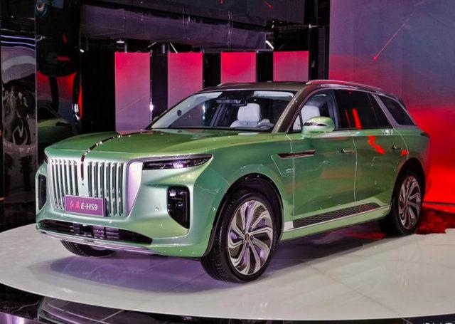 Europejczycy mają BMW X7, Chińczycy właśnie dostali Hongqi E-HS9