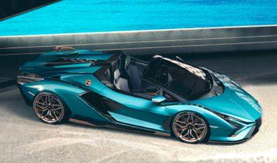 Lamborghini Sian zrzuca dach. Hybrydowy roadster o mocy 819 KM