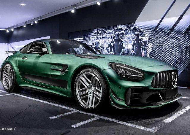 Carlex Design przedstawia: Mercedes-AMG GT R Pro Tattoo Edition