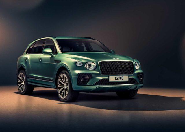 Tak prezentuje się Bentley Bentayga w nowej odsłonie