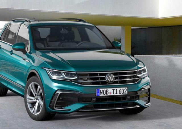 Volkswagen Tiguan po kosmetycznych poprawkach i w wersji hybrydowej