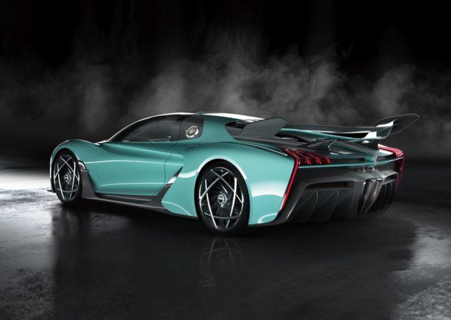 Chińskie Bugatti nazywa się Hongqi S9
