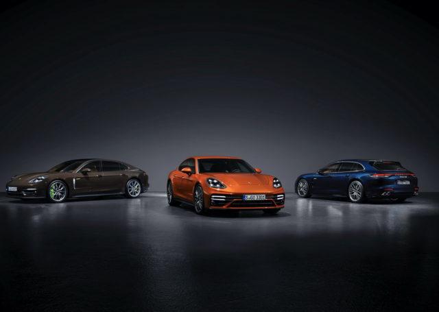 Porsche Panamera po liftingu – nowe wersje silnikowe