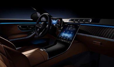 Wnętrze Mercedesa Klasy S bez tajemnic
