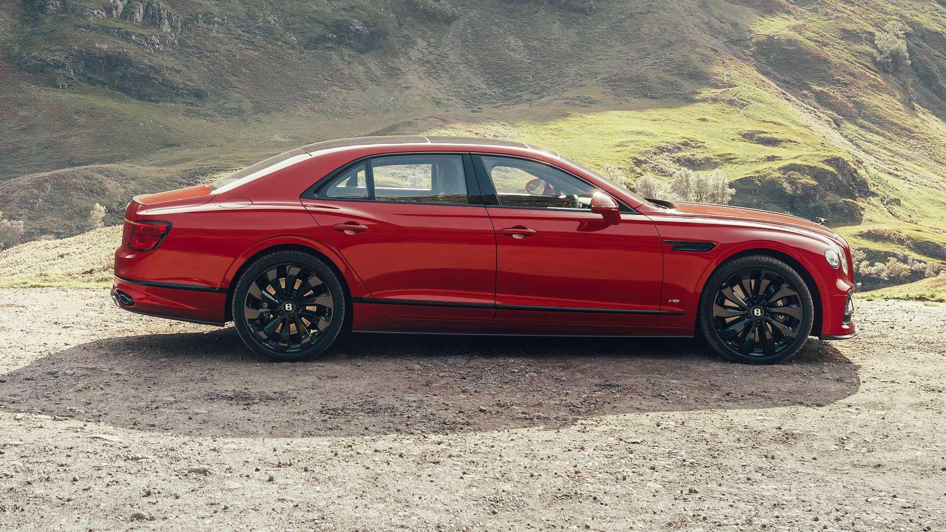 Profil samochodu Bentley Flying Spur V8