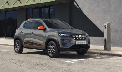 Dacia Spring Electric z napędem elektrycznym
