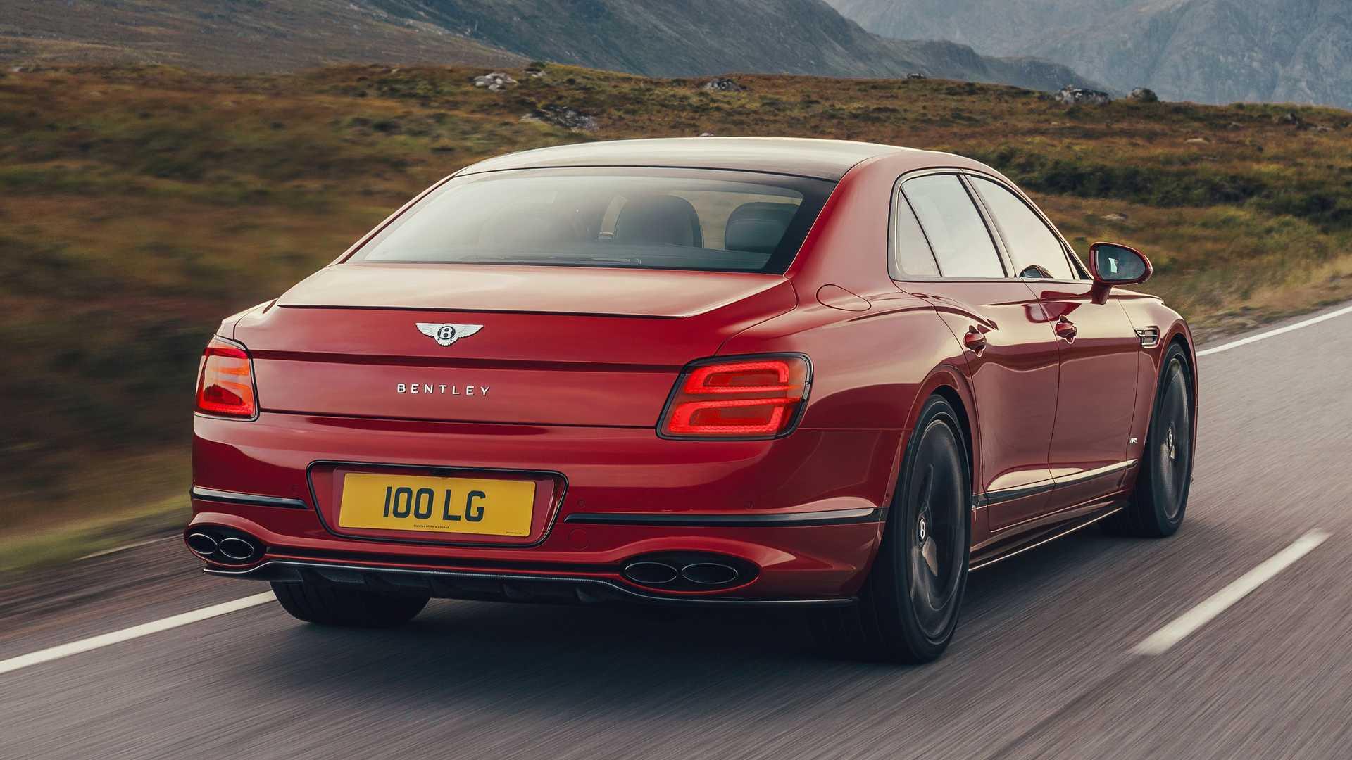 Bentley Flying Spur V8 w trasie