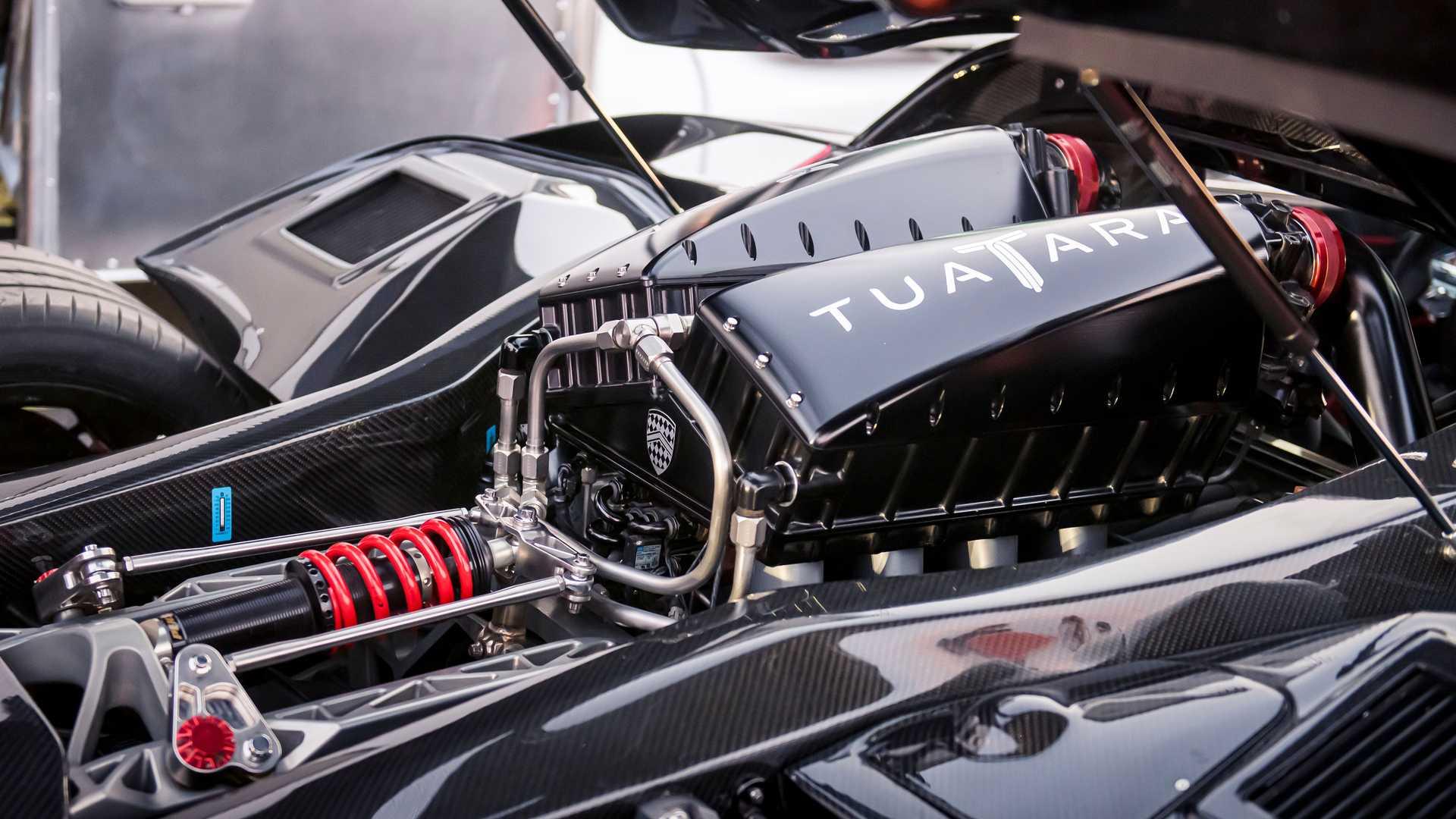 5,9-litrowy silnik V8 w SSC Tuatara