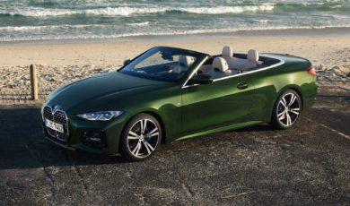 Nowe BMW serii 4 Cabrio – z charakterystycznym grillem i nowym miękkim dachem