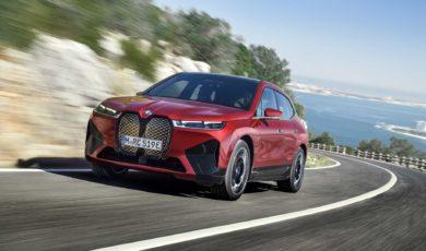 BMW iX – duży SUV z napędem elektrycznym