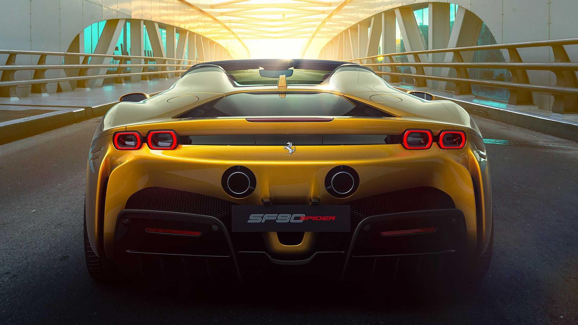 Superhybryda Ferrari SF90 Spider