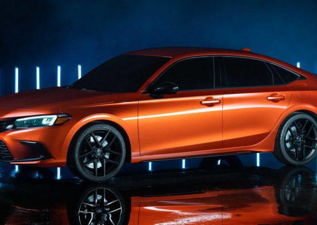 Honda Civic 11. generacji na rynku za rok