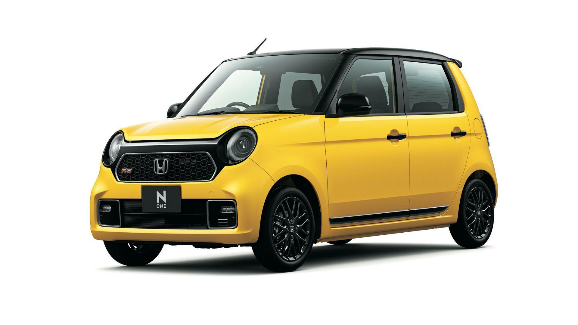 Honda N-One to najpopularniejszy kei-car w Japonii