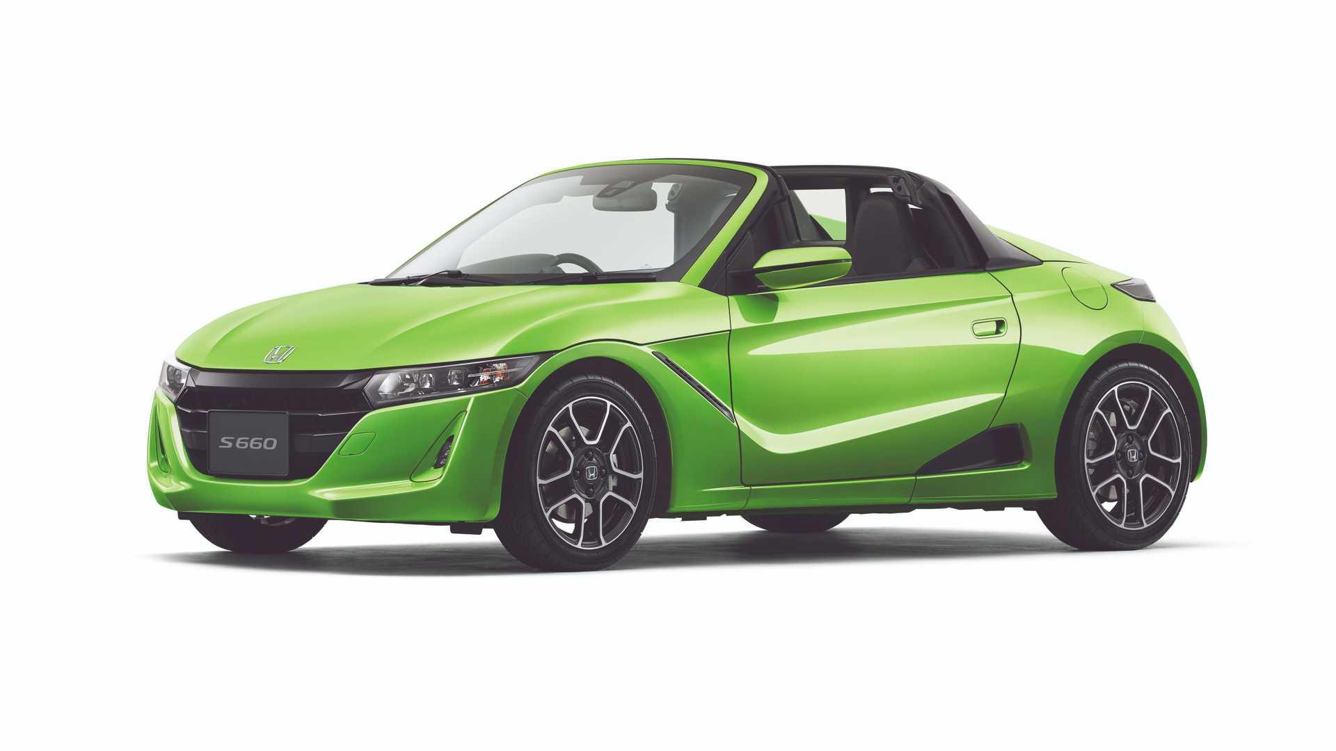 Honda S660 to oryginalny kei-car kabriolet