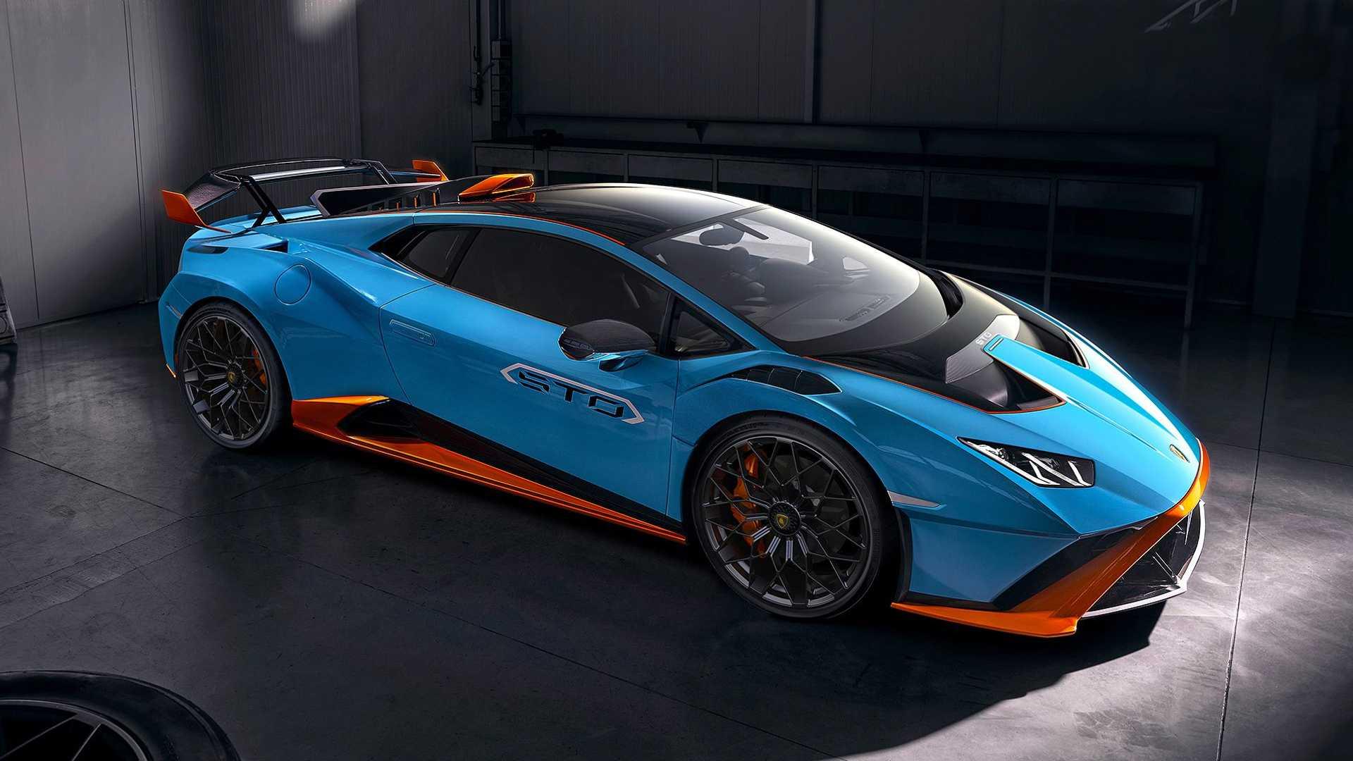 Huracan STO to Lamborghini na tor z homologacja