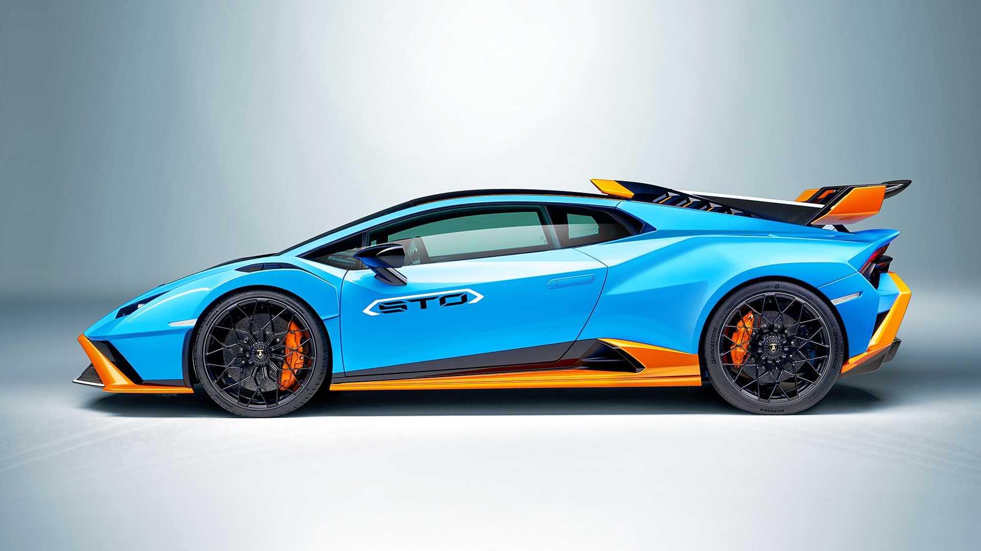 Superauto Lamborghini Huracan STO z homologacja drogowa