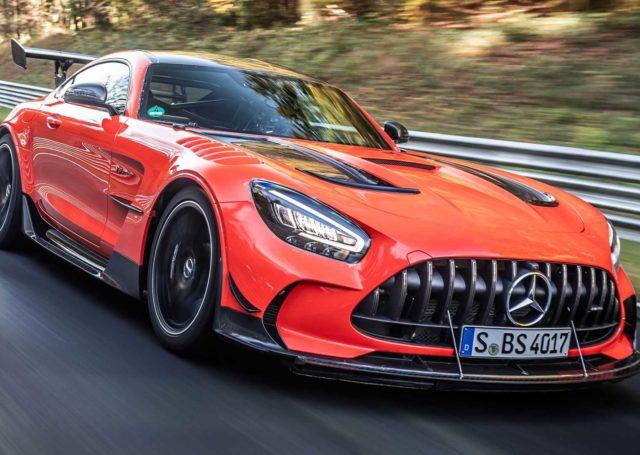 Mercedes-AMG GT Black Series nowym królem Nurburgringu